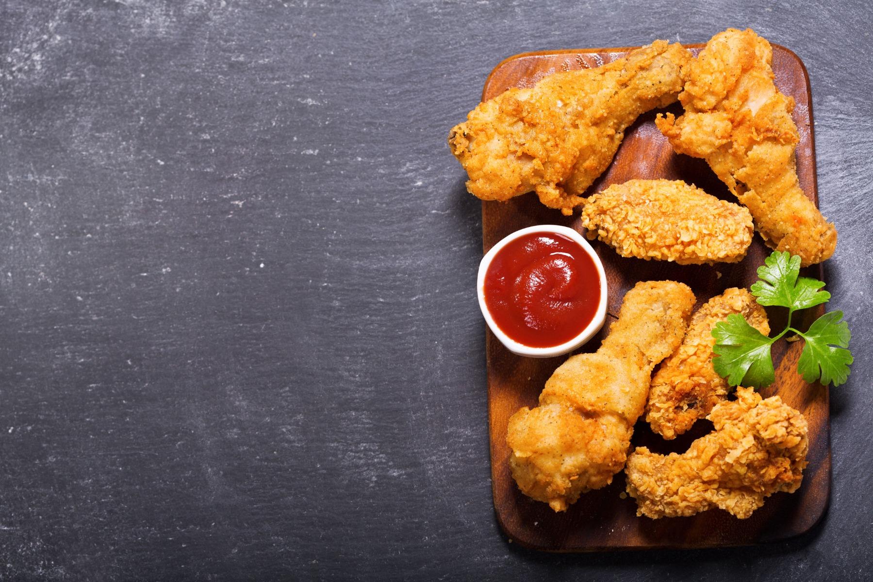 Prik en Tik - Wijnstreken - Foodpairing - Junkfood fried chicken