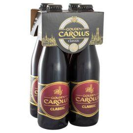 Gouden Carolus Classic clip 4 x 33cl