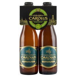 Gouden Carolus Hopsinjoor clip 4 x 33cl