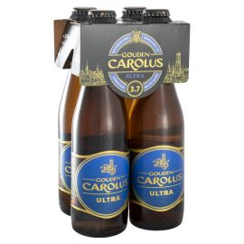 Gouden Carolus UL.T.R.A. clip 4 x 33cl