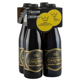 Gouden Carolus Whisky Infused clip 4 x 33cl