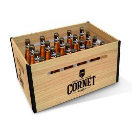 Cornet houten krat 20x33cl