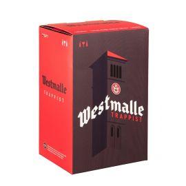 Westmalle geschenk 2x33cl + glas