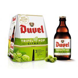 Duvel Tripel Hop Citra clip 4 x 33cl