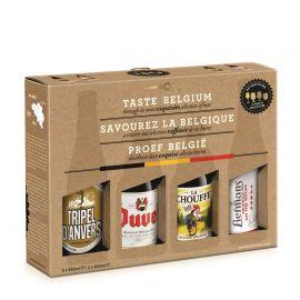 Duvel Taste Belgium geschenk 3x33cl + 1x25cl