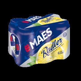Maes Radler Citroen blik 6 x 33cl