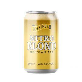 Kasteelbier Nitro Blond blik 30cl