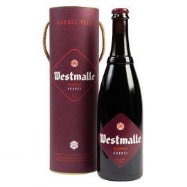 Westmalle Dubbel Koker fles 75cl