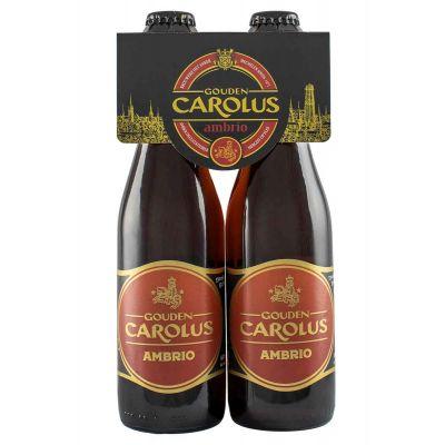 Gouden Carolus Ambrio clip 4 x 33cl