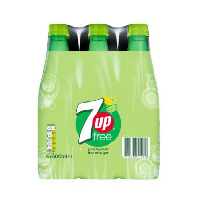 Seven Up Free pet 6x50cl