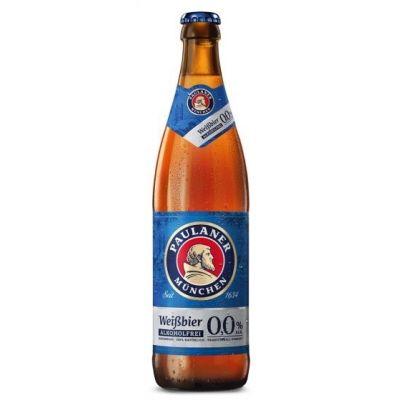 Paulaner Alcoholvrij Hefe-Weissbier fles 50cl
