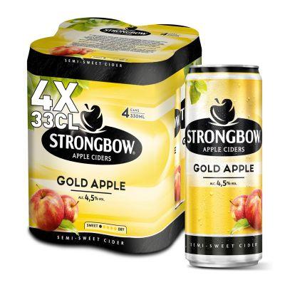 Strongbow Gold Apple blik 4 x 33cl