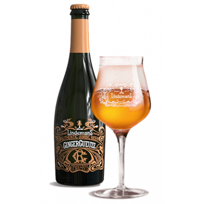 Lindemans GingerGueuze fles 75cl