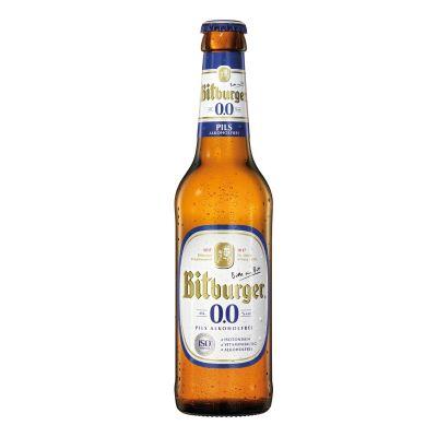 Bitburger 0.0 fles 33cl