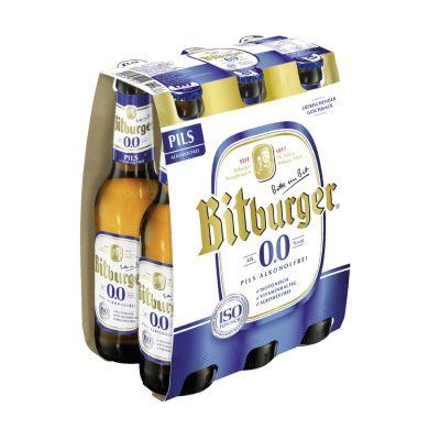 Bitburger 0.0 clip 6 x 33cl