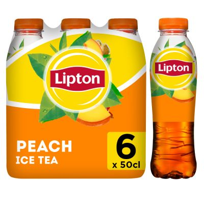 Lipton Ice Tea Peach clip 6 x 50cl
