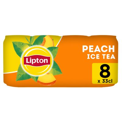 Lipton Ice Tea Peach blik 8 x 33cl