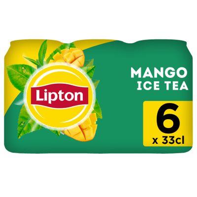 Lipton Ice Tea Mango blik 6 x 33cl