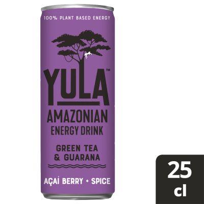 Yula Açai Berry + Spice blik 25cl