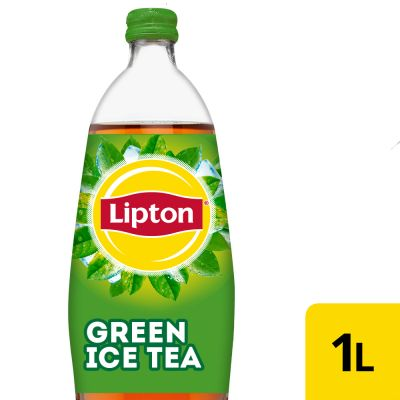 Lipton Ice Tea Green Original (Reduced sugar) fles 1l