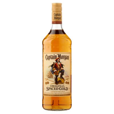 Captain Morgan Spiced Gold fles 1l