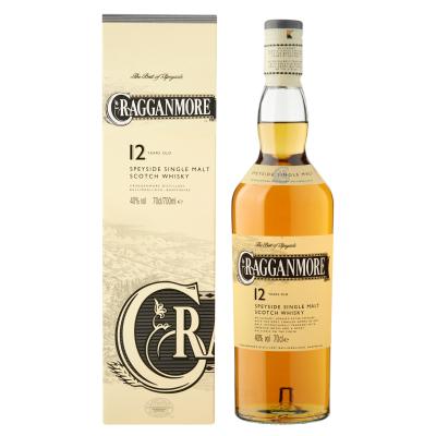 Cragganmore 12Y fles 70cl