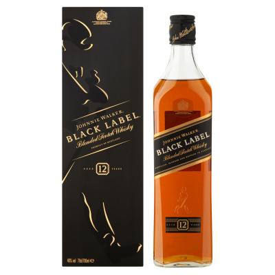 Johnnie Walker Black Label fles 70cl
