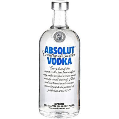 Absolut vodka Blue fles 70cl