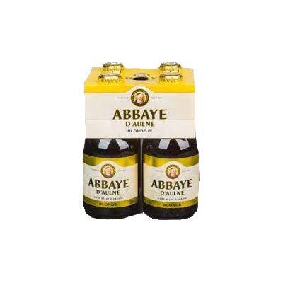 Abbaye D'Aulne Blond clip 4 x 33cl