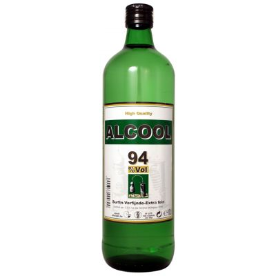 Alcohol puur fles 1l