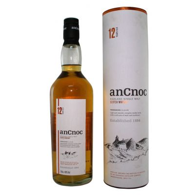 anCnoc Whisky 12Y fles 70cl