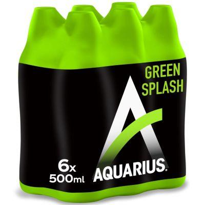 Aquarius Green Splash clip 6 x 50cl