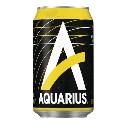 Aquarius Lemon blik 33cl