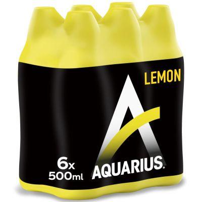 Aquarius Lemon clip 6 x 50cl