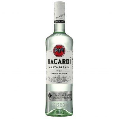 Bacardi Carta Blanca fles 70cl
