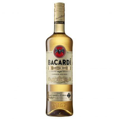 Bacardi Carta Oro fles 70cl
