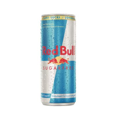 Red Bull Sugarfree blik 25cl