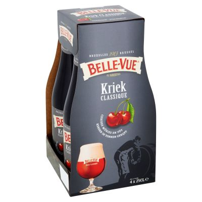 Belle Vue Kriek clip 4 x 25cl