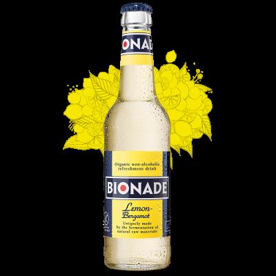 Bionade Citroen/Bergamot fles 33cl