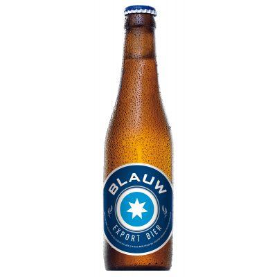 Blauw - Export Bier fles 33cl