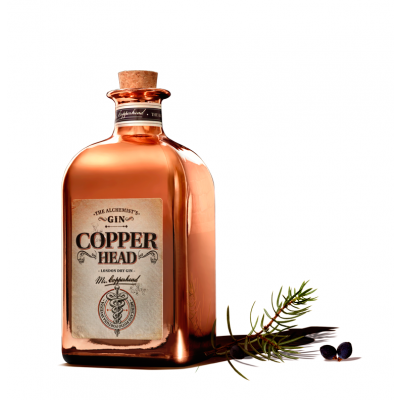 Copperhead fles 50cl