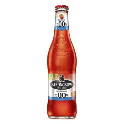 Strongbow Red Berries 0,0% fles 33cl