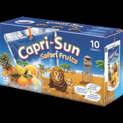 Capri-Sun Safari Fruits clip 10 x 20cl