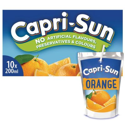 Capri-Sun Orange clip 10 x 20cl