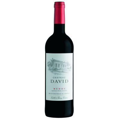 Château David Medoc Rouge fles 75cl