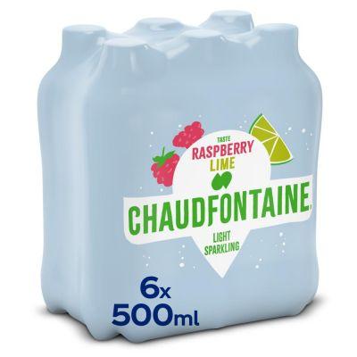 Chaudfontaine Licht Bruisend Framboos Limoen clip 6 x 50cl