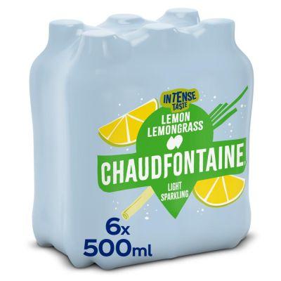 Chaudfontaine Licht Bruisend Citroen Citroengras clip 6 x 50cl