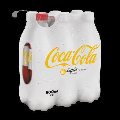 Coca-Cola Light Lemon pet 6 x 50cl