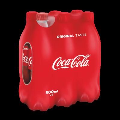 Coca-Cola Original clip 6 x 50cl