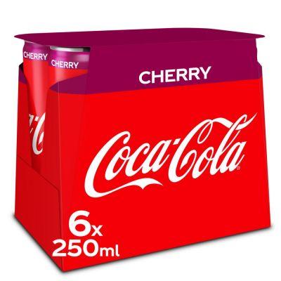 Coca-Cola Cherry blik 6 x 25cl
